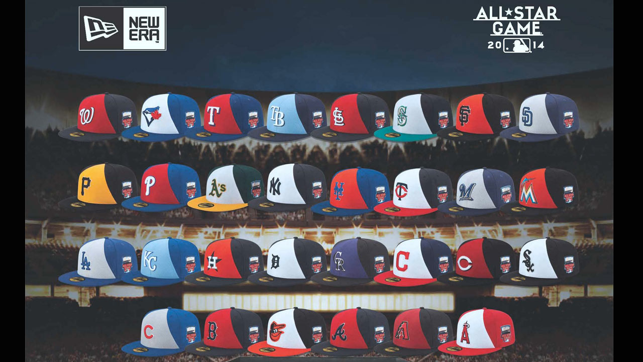 MLB reveals special caps for All-Star Game