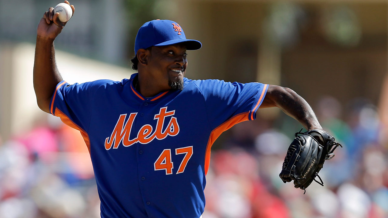 Valverde earns key role in Mets' bullpen