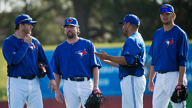 Blue Jays' outlook rests with health of rotation