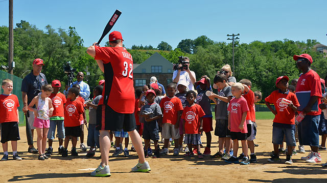 Reds host 10th annual Rookie Success League camp