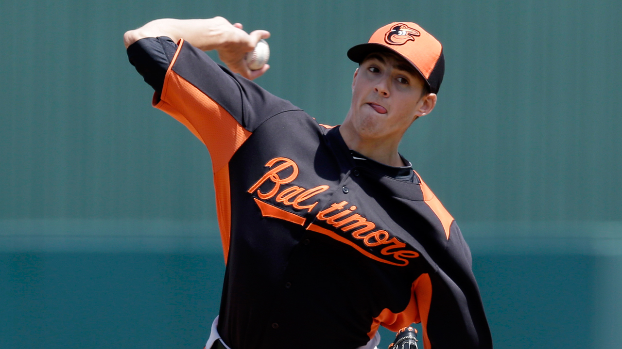 Gausman strong as O's roll to nightcap win