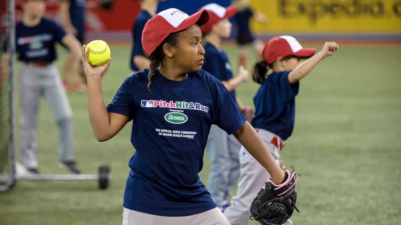 Youngsters compete in local Pitch, Hit & Run finals