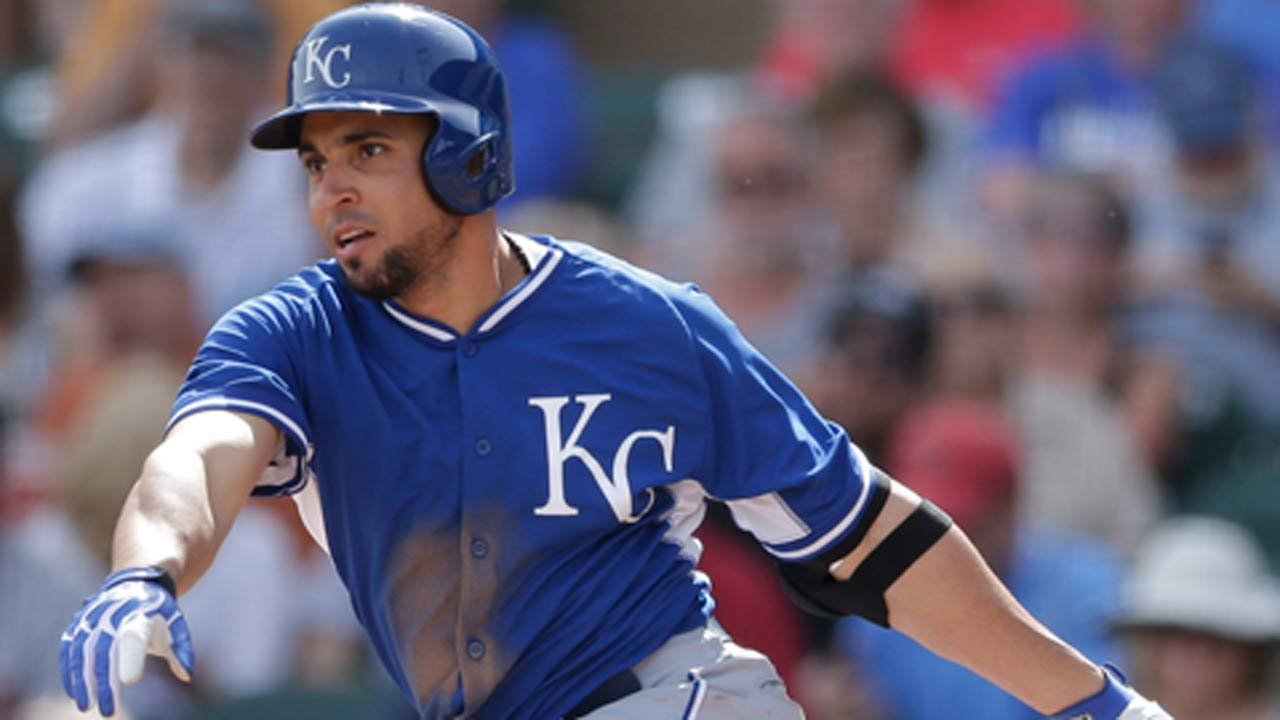 Infante scores lone Royals run in loss to Rockies