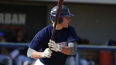 California youngster Bauers projects as outfielder
