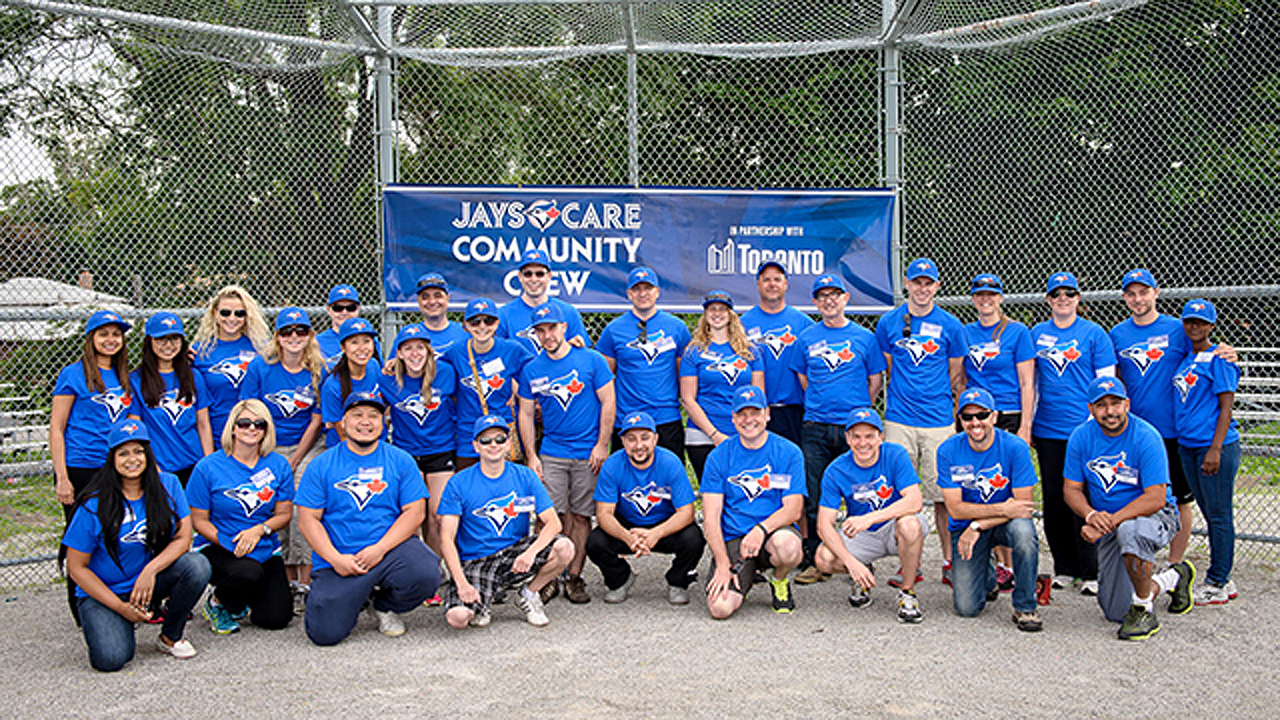 Jays Care Community Crew continues field makeovers