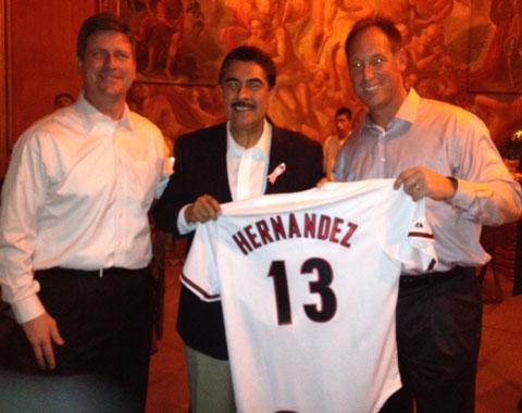 D-backs y el alcalde de Phoenix visitan Guadalajara