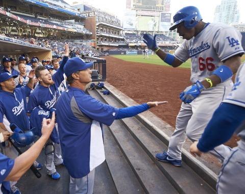 Ha sido de película el repunte de los Dodgers este año