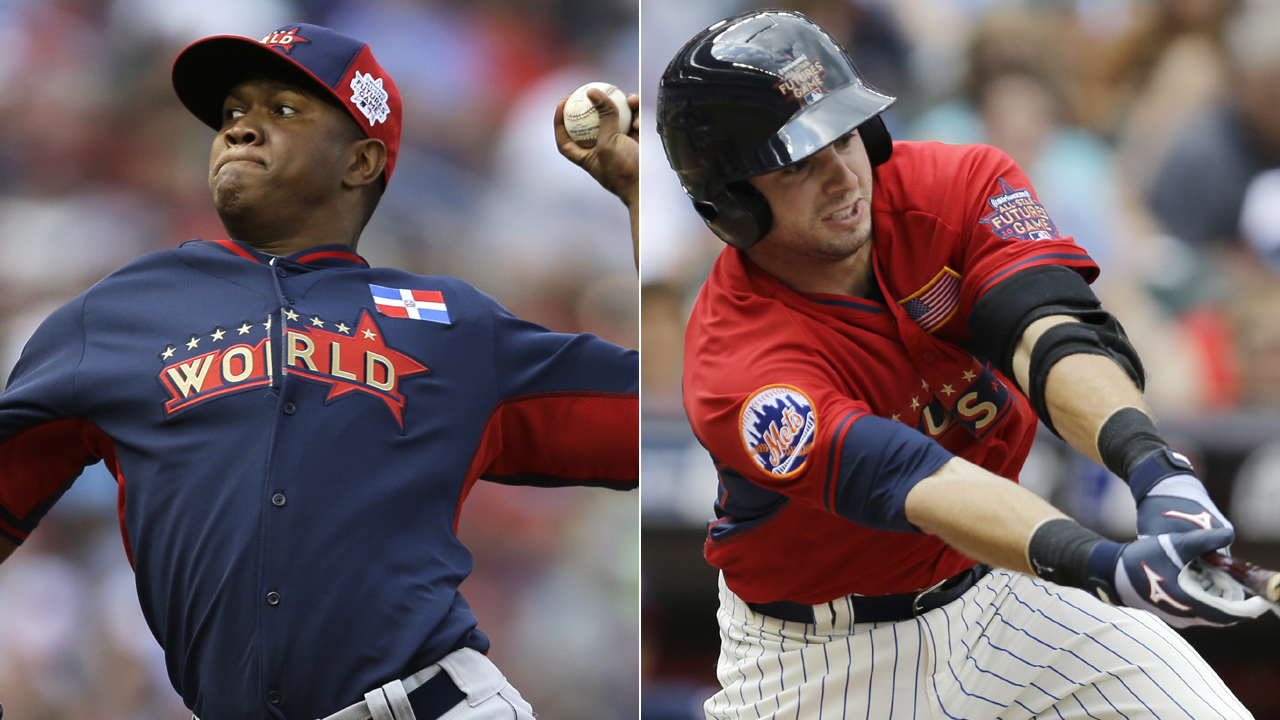 Rays prospects square off in Futures Game