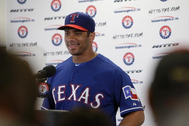 Seahawks' Russell Wilson is ready for Yankees Spring Training