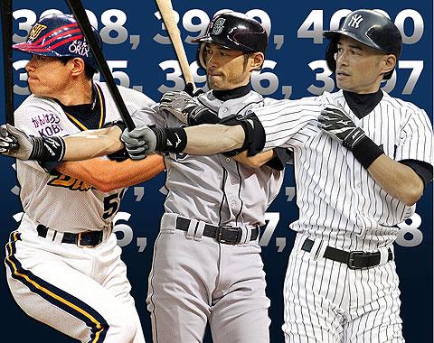 Ichiro se acerca a los 4,000 hits como profesional