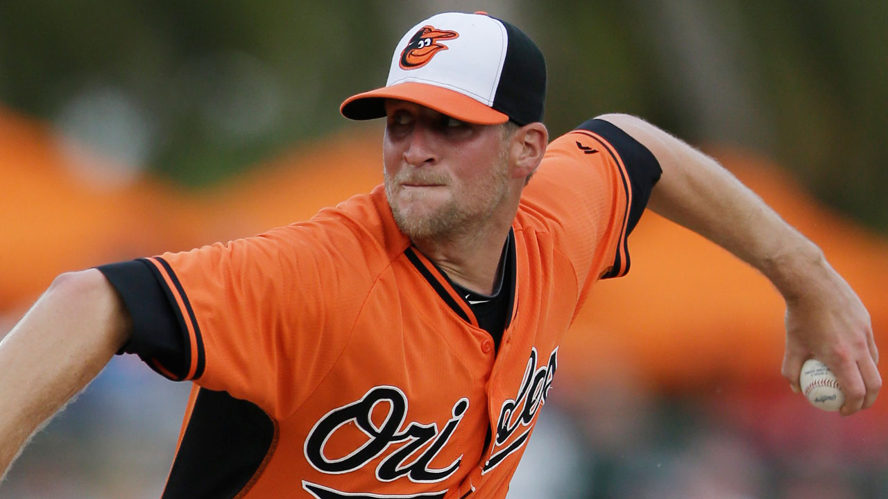 Orioles add left-hander Patton to roster