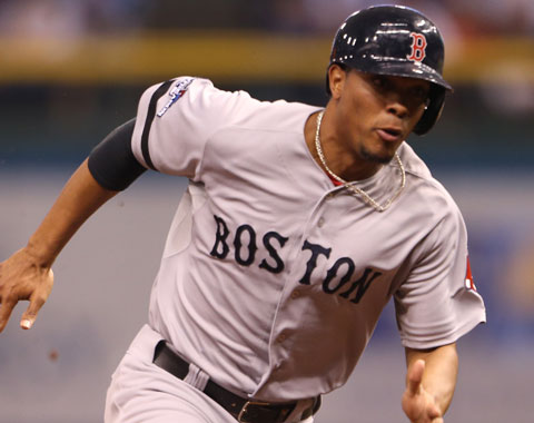 Bogaerts al lineup de Boston; Middlebrooks sentado