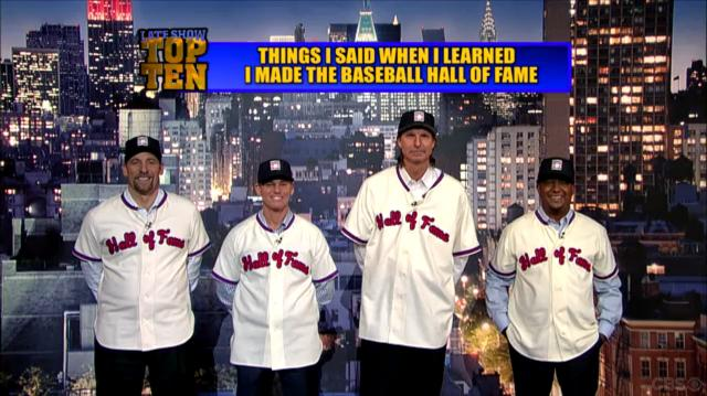 Having Conquered MLB, HOF Class Of 2015 Takes Over Late