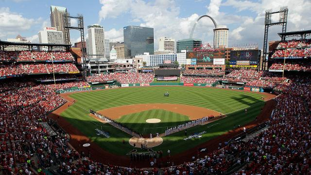 St. Louis pride on display as NLDS begins