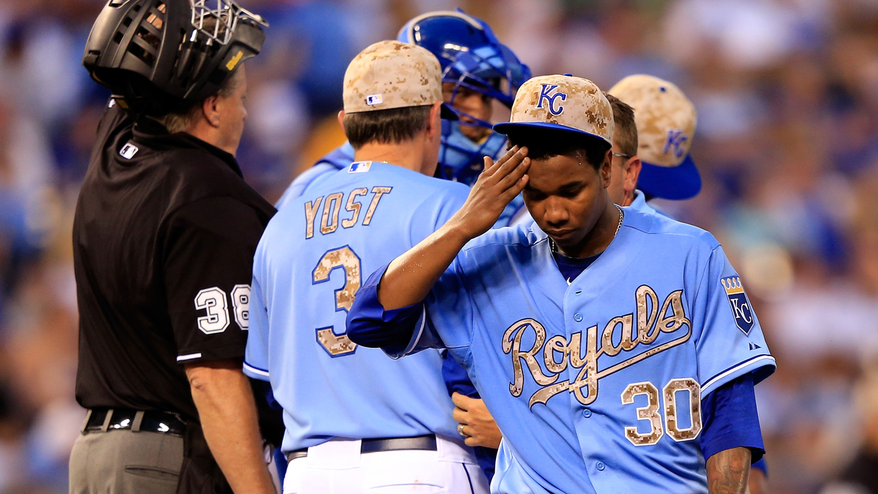 Ventura's injury exit hangs over Royals' loss to Astros