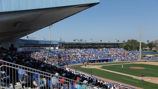 Blue Jays announce Grapefruit League slate