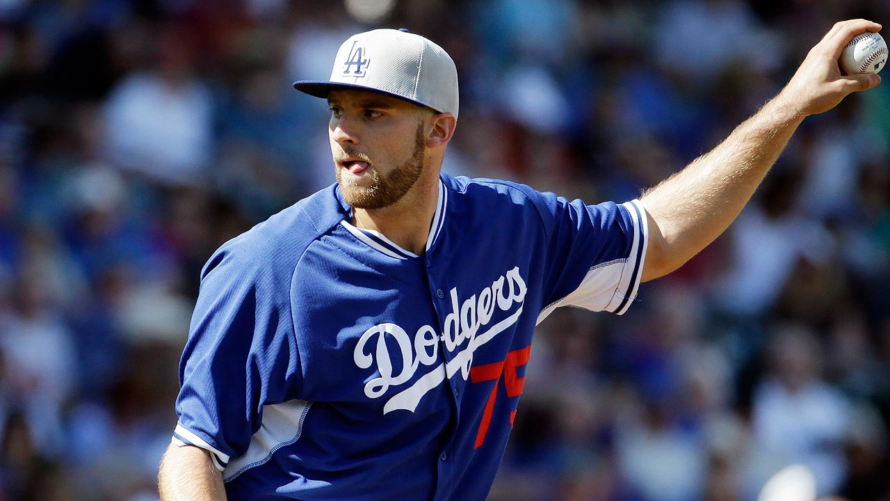 Several candidates for few spots in Dodgers' bullpen