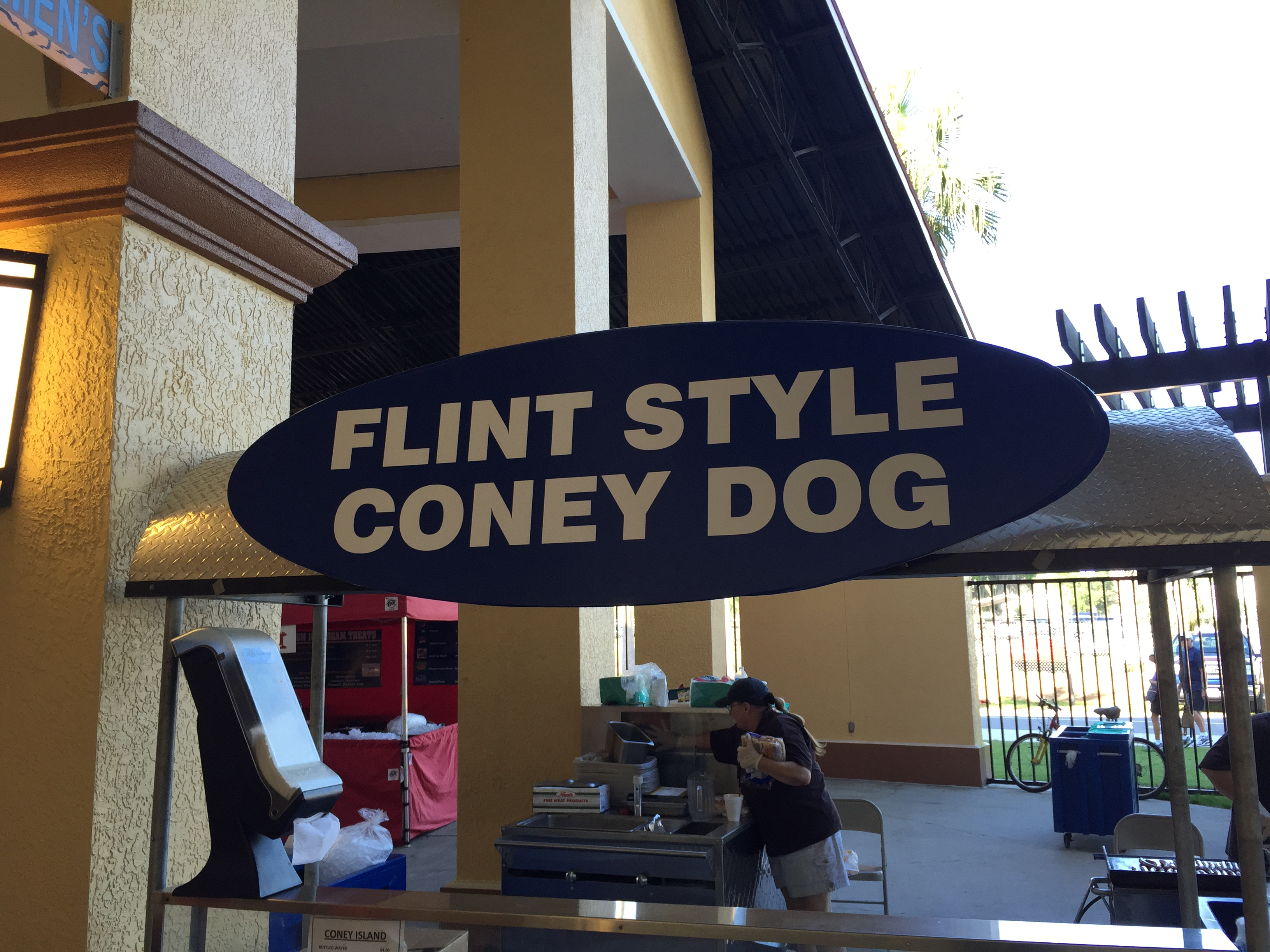 Flint Style coney sign
