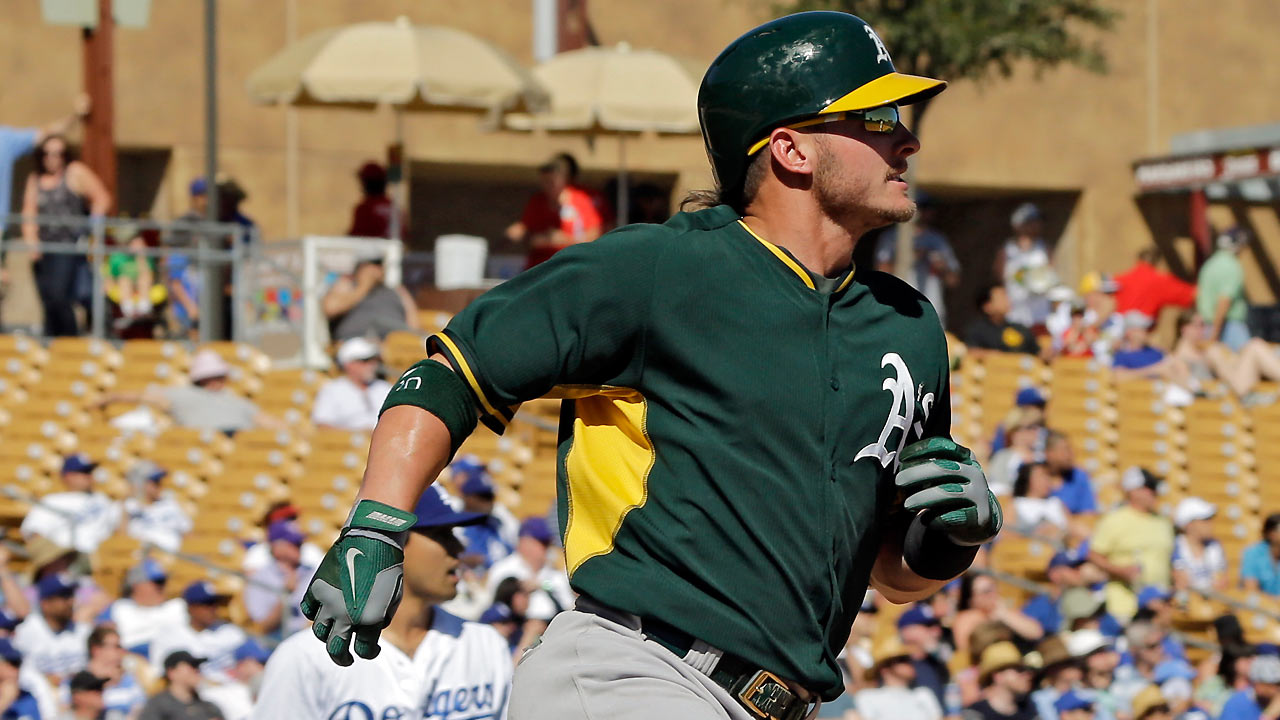 Donaldson, Cespedes homer before A's fall to Mariners