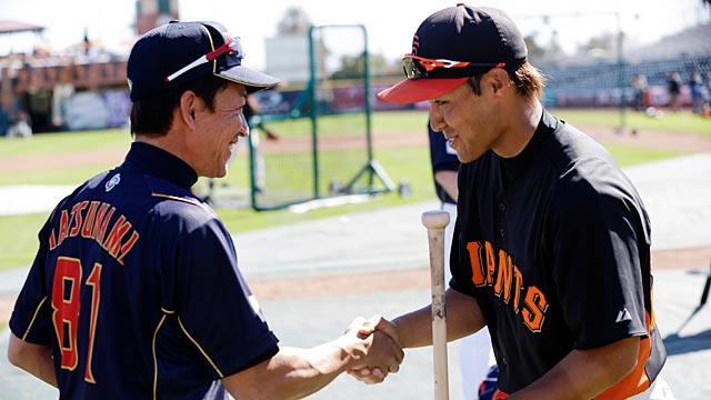 Team Japan crisp in defeating MLB's Giants