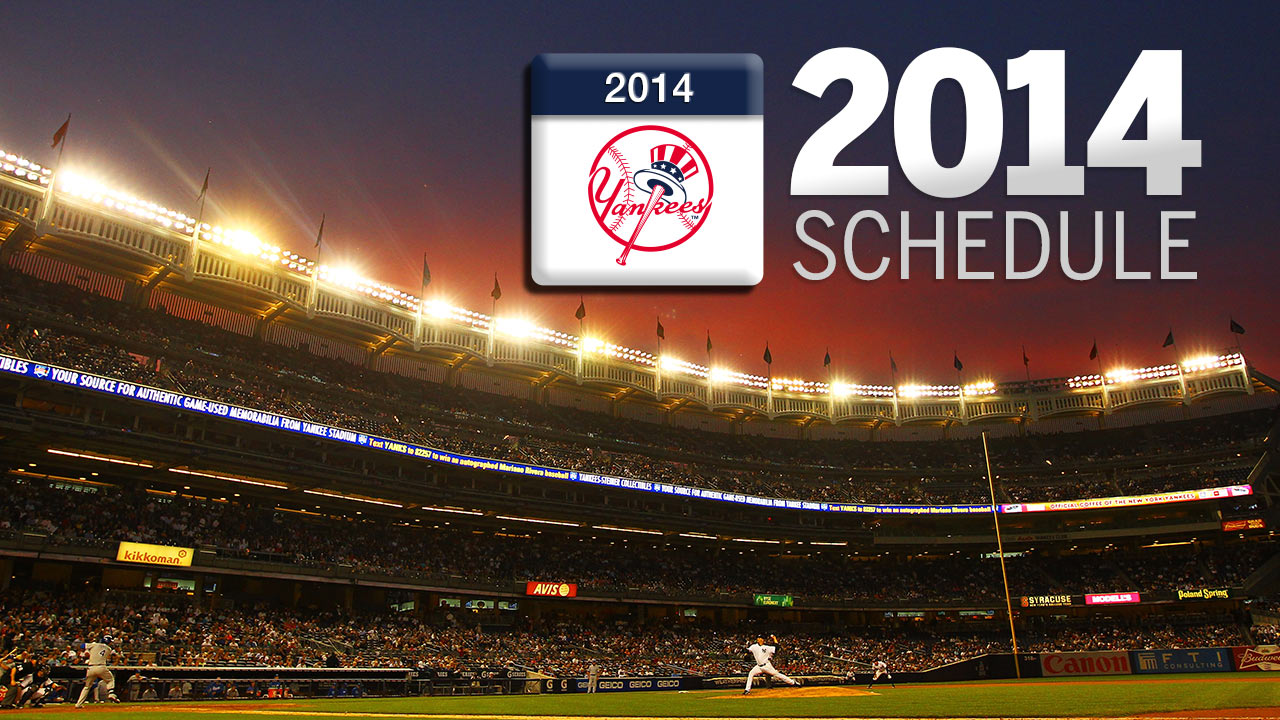 Yanks open 2014 in Houston, conclude at Fenway