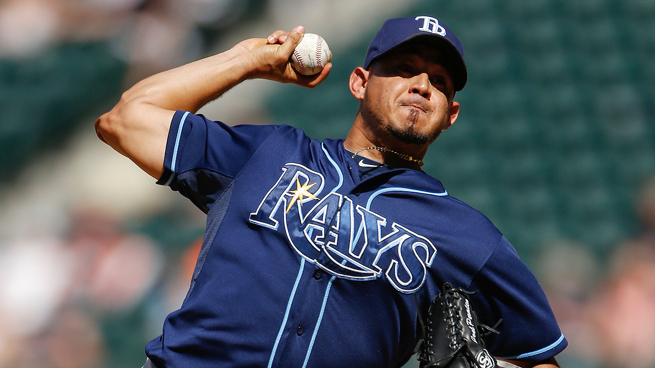 Peralta ties club's relief appearance record