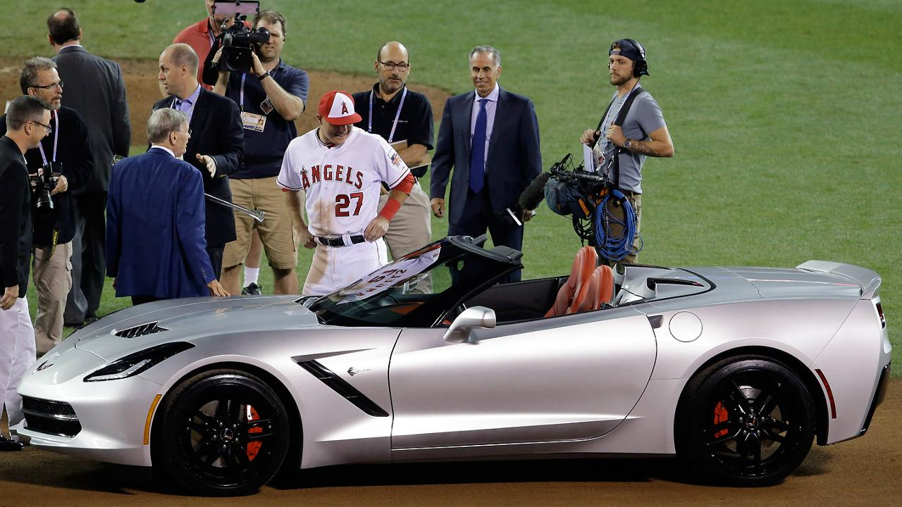 Mike Trout S Car