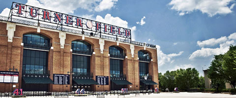 Turner Field Entrance