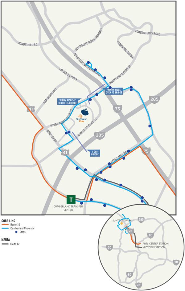 SunTrust Park Information Guide  Atlanta Braves