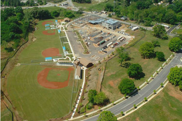 Baseball Academy - Aerial View