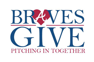 Braves Give. Pitching In Together.