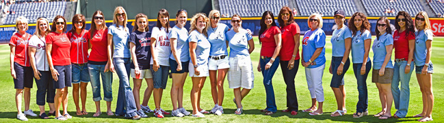 Braves Wives Group Shot