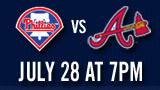 Phillies vs. Braves