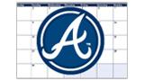 Braves Promotional Calendar