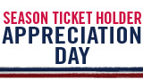 Season Ticket Holder Appreciation Day on September 1st