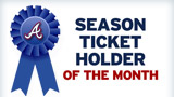 Season Ticket Holder of the Month