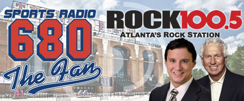 New Radio home of the Braves is 680 AM and Rock 100.5 FM