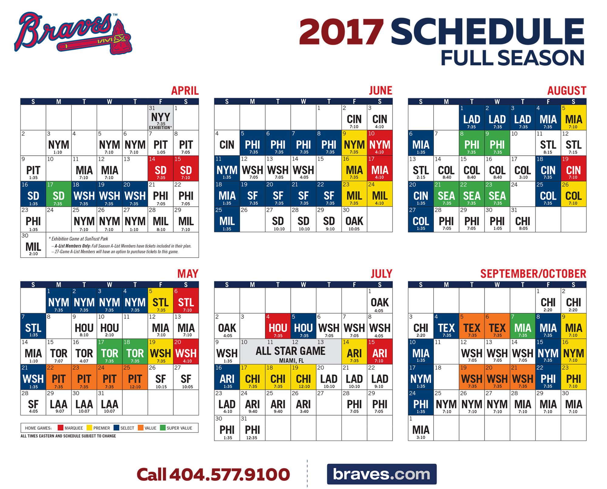 picture regarding Atlanta Braves Schedule Printable identify Braves Sport Program Illustrations and Varieties