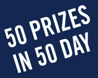 50 Prizes in 50 Days