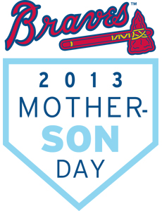 Atlanta Braves Mother-Son Day