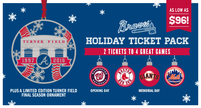 Braves Holiday Ticket Pack