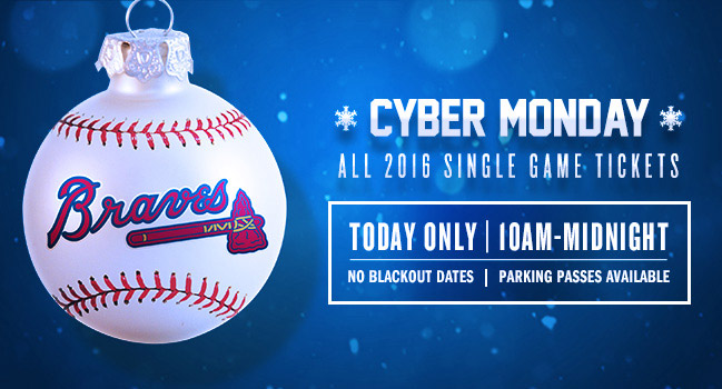 Cyber Monday - All Single Game Tickets on Sale