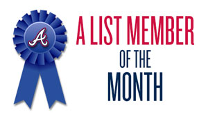 A List Member of the Month