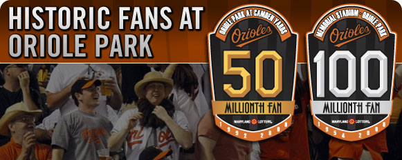 The 50 millionth fan
