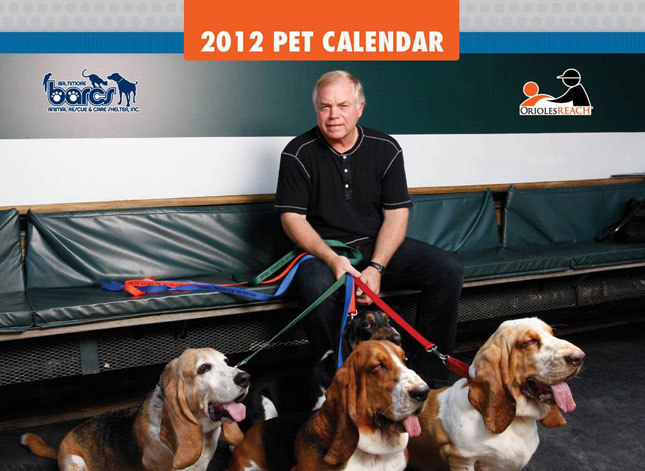 Buck Showalter Calendar Cover