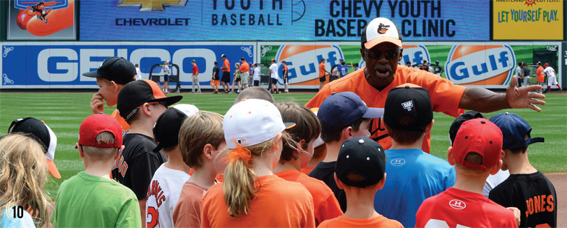Chevy Youth Baseball Clinics