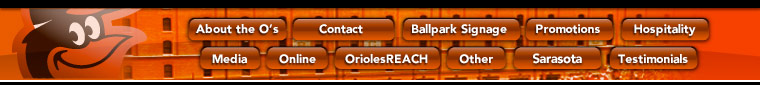 Orioles Sponsorship Opportunities