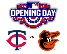 Twins vs. Orioles
