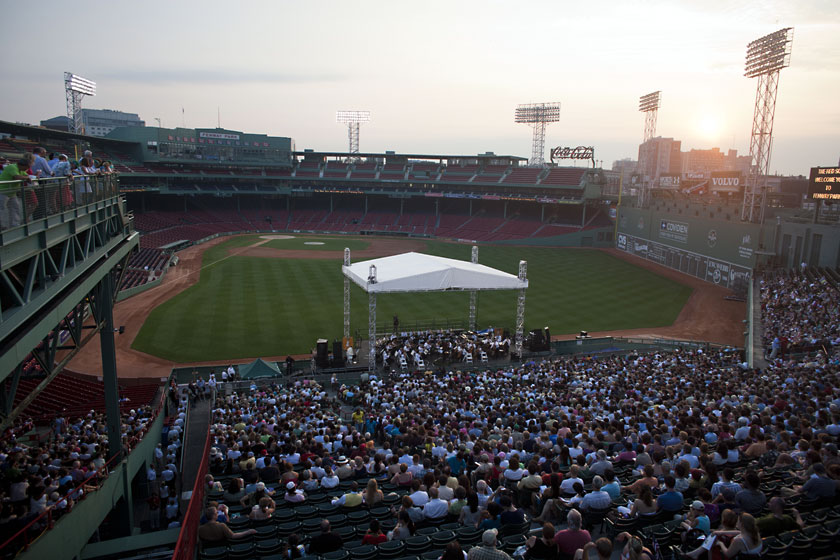 Fenway Park Living Museum Timeline Boston Red Sox