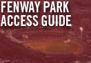 fenway park access guide